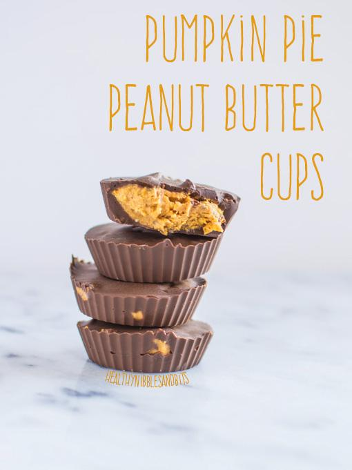 These homemade Pumpkin Pie Peanut Butter Cups are better for dessert than Reese's and have a fun fall flavor twist!