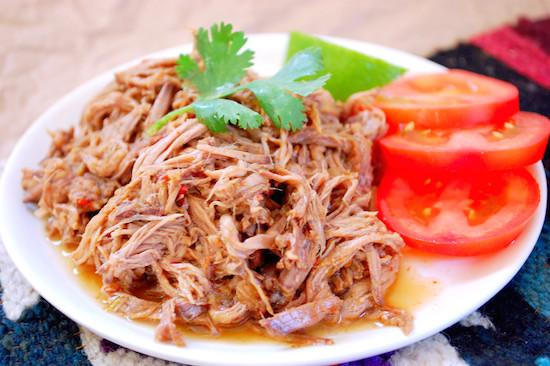Who needs Chipotle? Make your own Slow Cooker Shredded Beef Barbacoa that's perfect for burritos, bowls and salads!