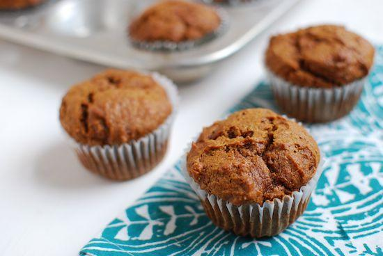 Fall and Winter flavors unite in these Pumpkin Gingerbread Muffins. The perfect baking project for a cold day.