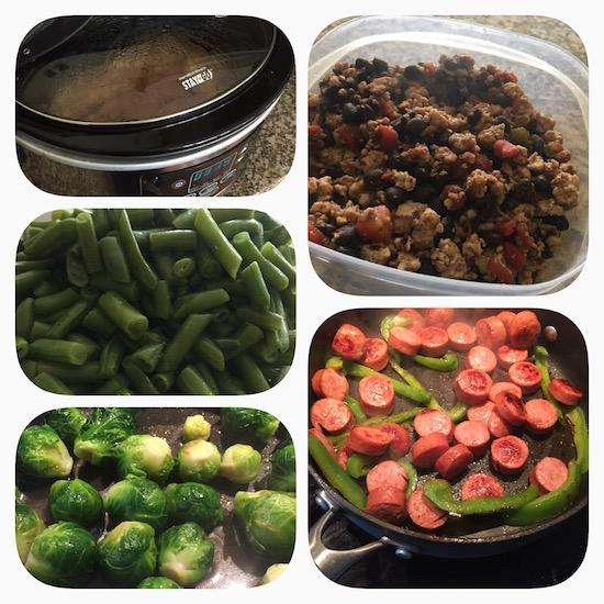 Sunday Food Prep is an easy way to ensure you can eat quick, healthy meals all week long.
