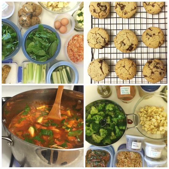 Sunday Food Prep 1-11-2015
