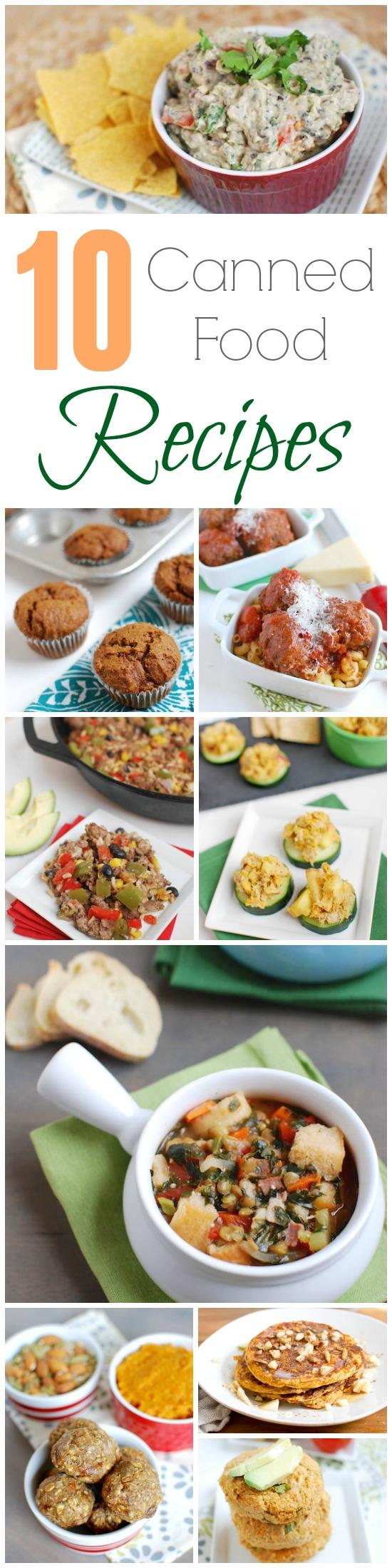 Canned food recipes canned foods can be a great healthy way to add nutrients to your diet forumfinder Images