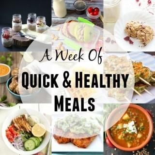 A Week of Quick, Healthy Meals