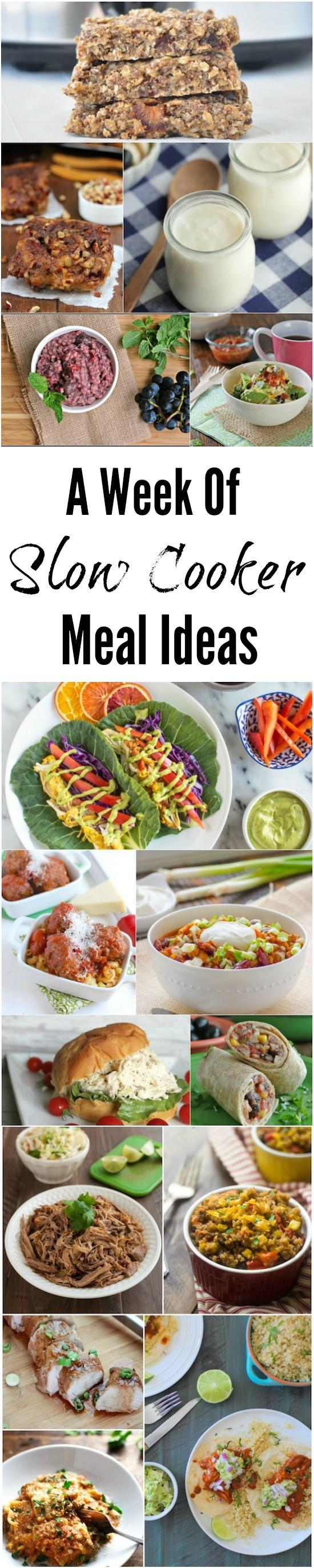 Need some new meal ideas? Here are 15 recipes (breakfast, lunch & dinner!) that can all be made in the crockpot!