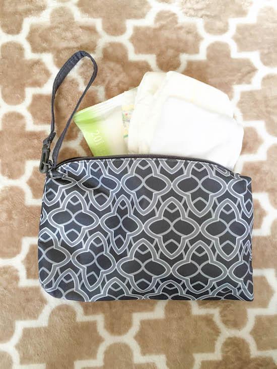 boppy diaper bag clutch