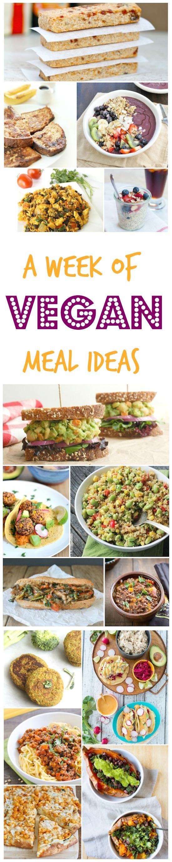 Check Out This Week Of Vegan Meals For Some Delicious Meatless Breakfast