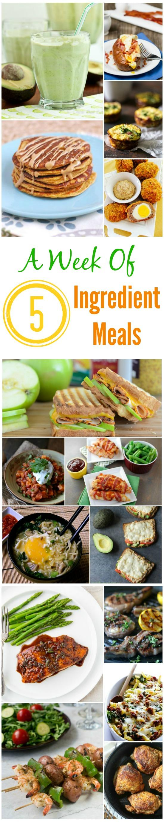5 ingredient meals need some quick easy meal ideas these recipes can all be made with 5 forumfinder Image collections