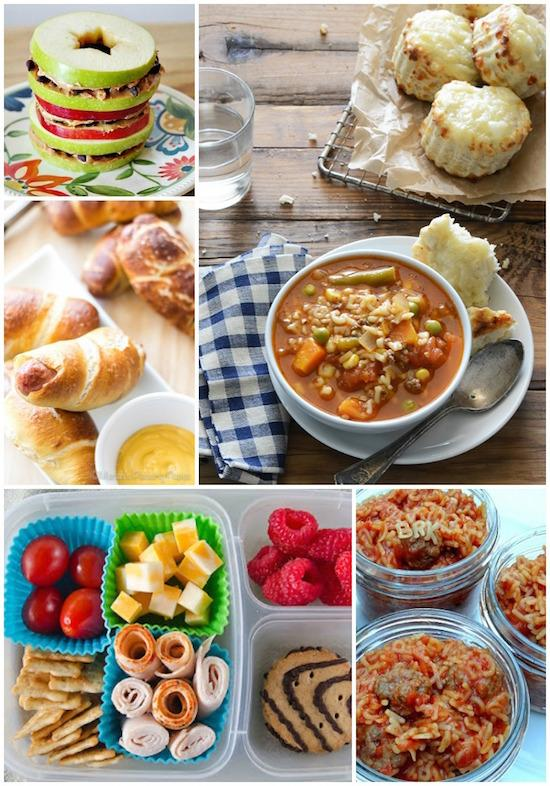 Some delicious kid-friendly lunch ideas