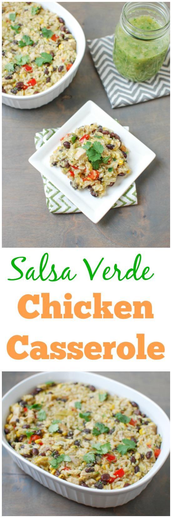 recipe: salsa verde chicken casserole [11]