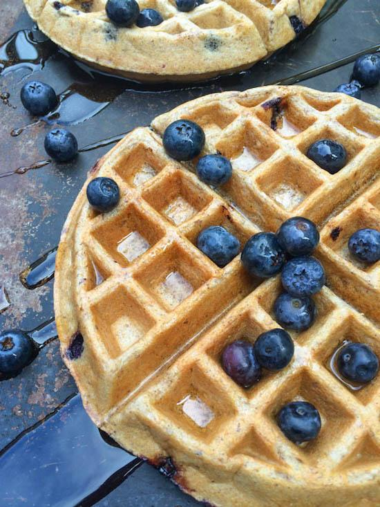Blueberry-Greek-Yogurt-Waffles-The-Lemon-Bowl