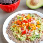 Mexican Layer Dip + 5 Healthy Black Bean Recipes
