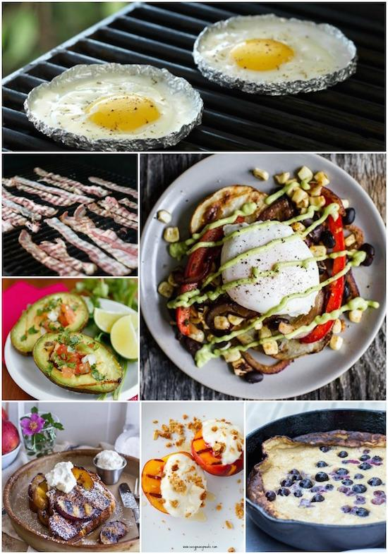 Recipes you can make on the grill for breakfast!