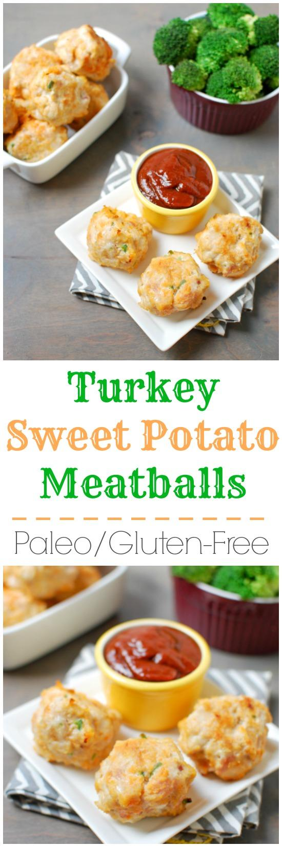 Healthy Turkey Meatballs With Sweet Potato Recipe