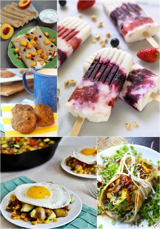 A Week of Summer Breakfast Ideas