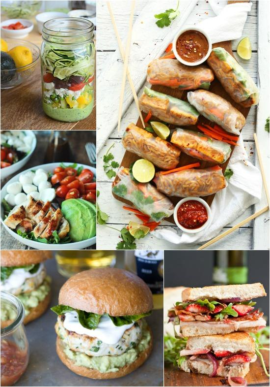 Easy Summer Lunch Ideas A week of summer meals lunch a week of summer lunch ideas sisterspd