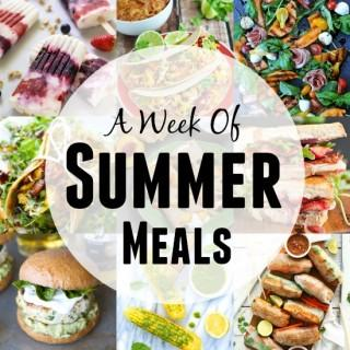 A Week of Summer Meals