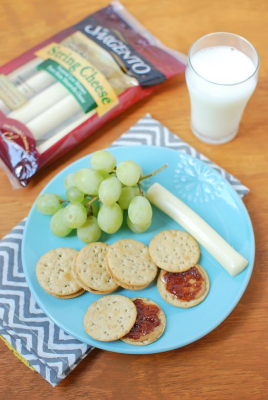 Mini Meal - PB&J Crackers, cheese and fruit