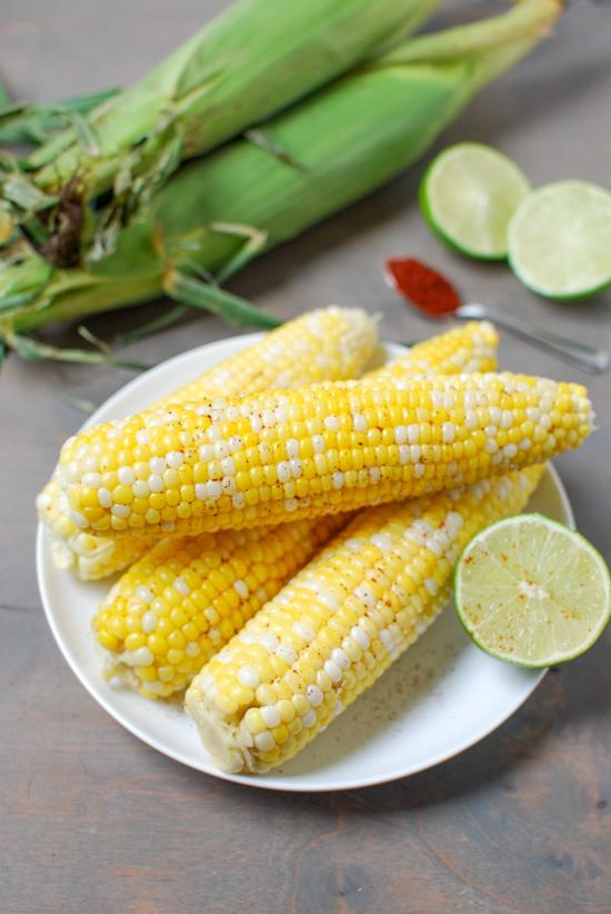 This Chili Lime Corn is the perfect balance of sweet and spicy. A fun way to jazz up your summer corn on the cob!