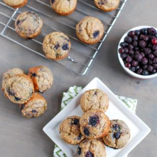 Wild Blueberry Mini Muffins