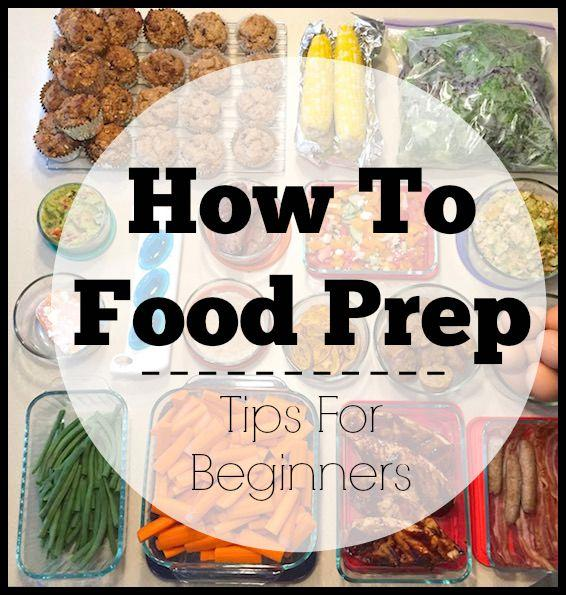 Want to food prep but not sure where to start? Here are 5 simple tips!