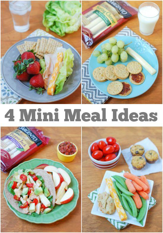 4 Mini Meal Ideas that will fill you up but not weigh you down!
