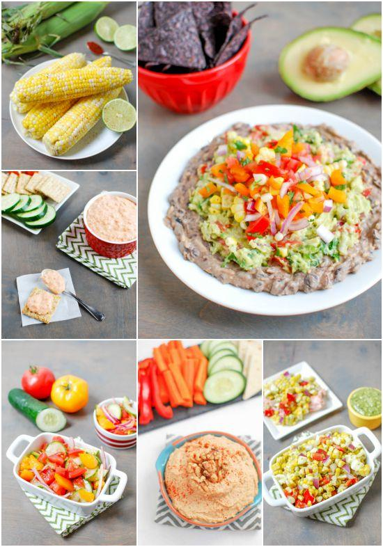 Healthy appetizer and side dish recipes
