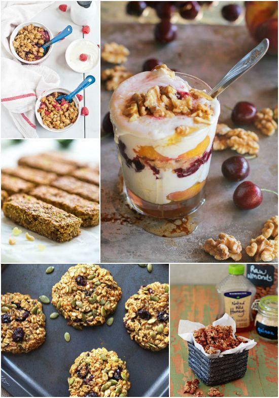 Breakfast ideas with nuts and seeds