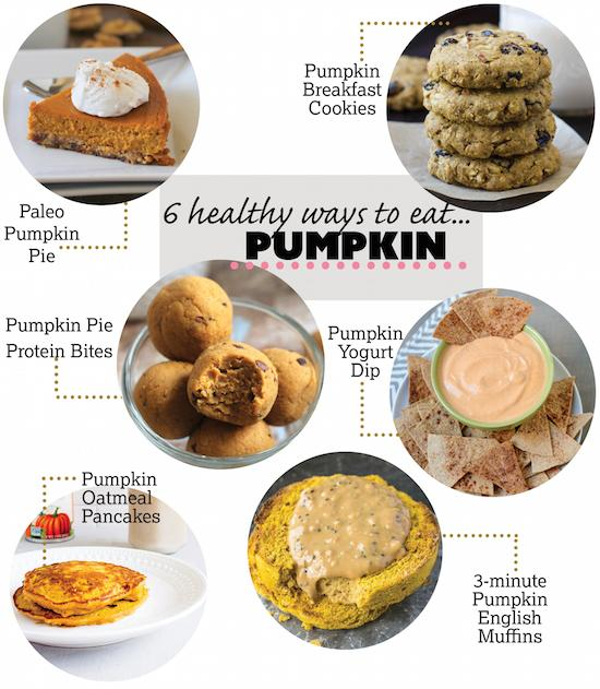 6 Healthy Ways To Eat Pumpkin from breakfast to dessert!