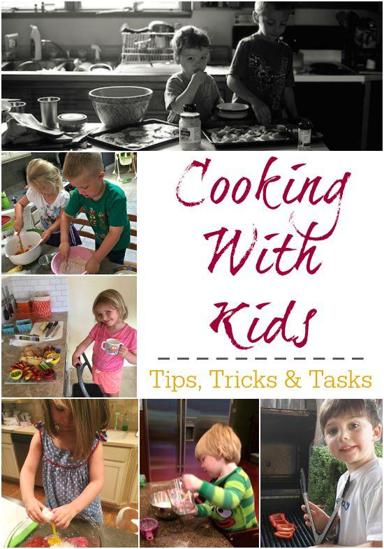 Want some extra help in the kitchen? Get the kids involved. Here are some ideas based on age and skill level!