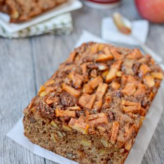 Studded with sweet cinnamon apples and pecans, this Caramel Apple Bread makes the perfect snack.