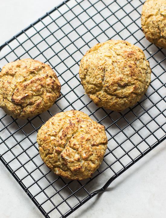 Gluten-Free Cauliflower Buns