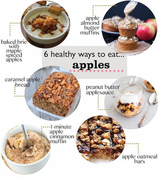 Love apples? Here are 6 delicious ways to eat them!