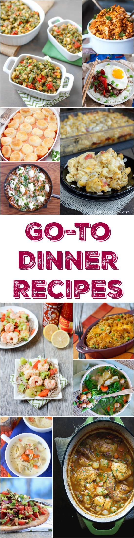 A Roundup Of 30 Easy Dinner Recipes That Can Be Added To Your List Go