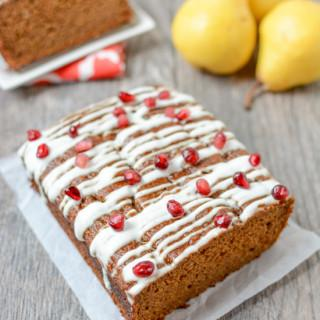 Pear Gingerbread