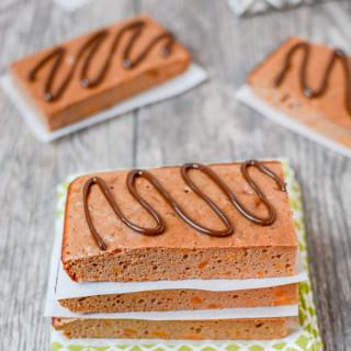 These gluten-free, grain-free protein bars are the perfect way to refuel after a workout and also make a great afternoon snack! They can be customized with mix-ins and are can easily be made paleo.