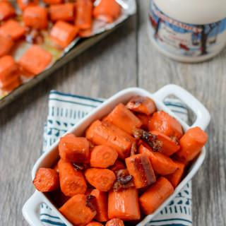 Maple Bacon Roasted Carrots