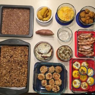 2016 Food Prep – Weeks 5, 6 and 7