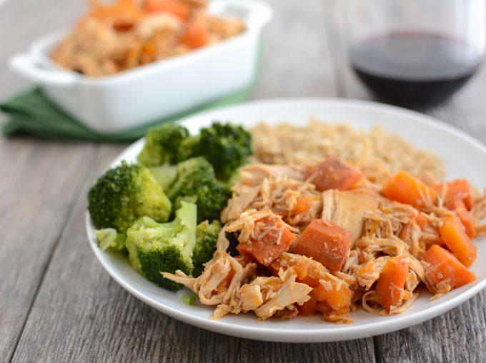 This recipe for Slow Cooker Honey Garlic Chicken Thighs is an easy, kid-friendly weeknight dinner. Let the crockpot do all the work and serve with rice and steamed veggies for a balanced meal.