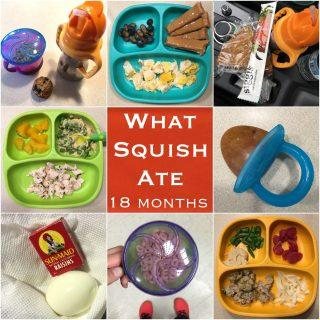 What My 18 Month Old Eats in a Day