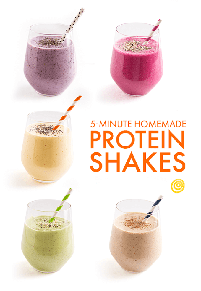 5 Minute Protein Smoothies