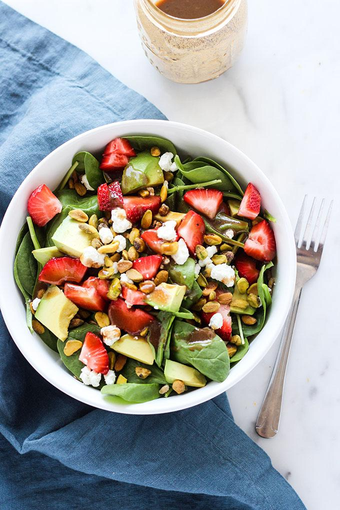 Strawberry Avocado Salad with Farro