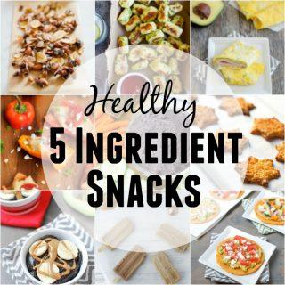Healthy 5 Ingredient Snacks