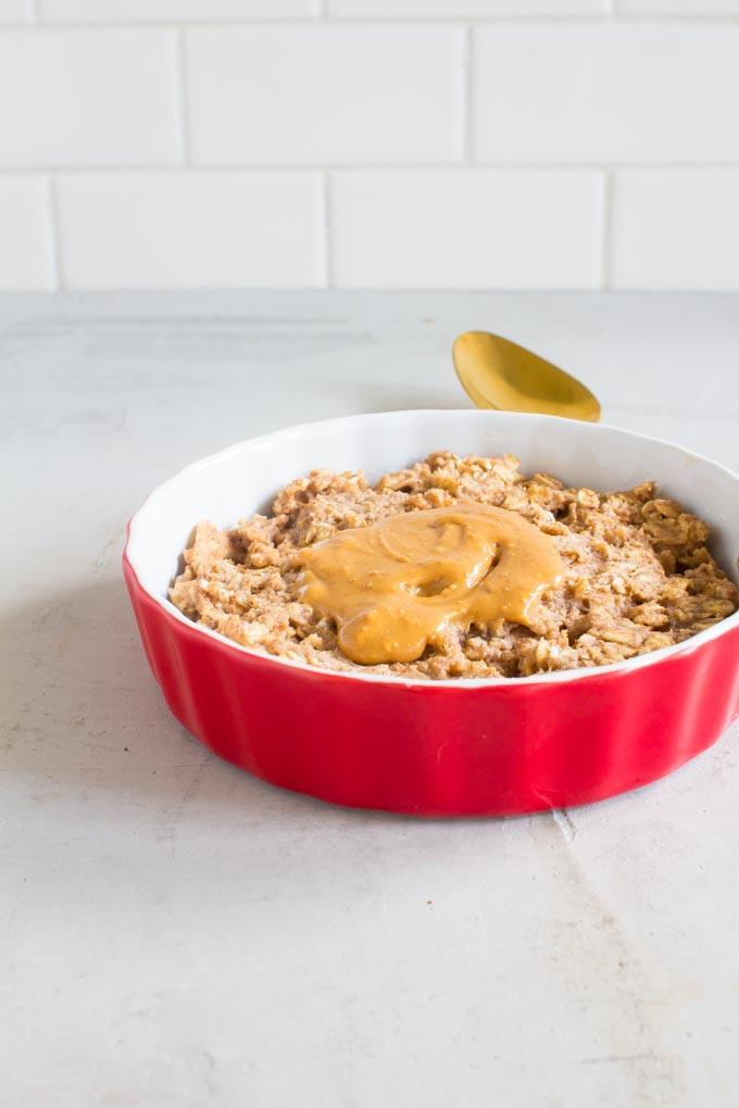 5 Minute Breakfast Oatmeal Cookie
