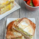 Egg-In-A-Hole Breakfast Sandwich