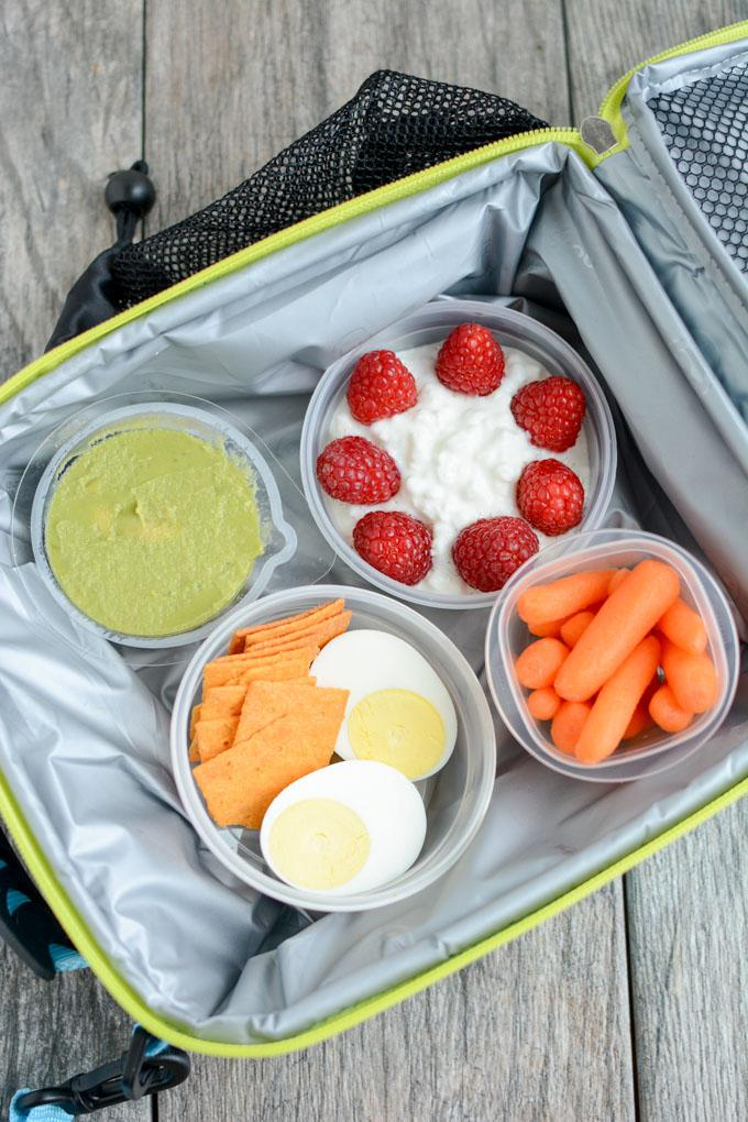 Three tips for assembling Healthy Packable Lunches For Kids that are quick and satisfying to help fuel kids through their busy afternoons!
