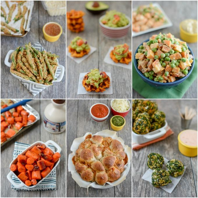 Easy, healthy appetizers and side dishes from a Registered Dietitian.