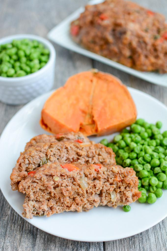 Cajun meatloaf this cajun meatloaf recipe is perfect for dinner its healthy full of flavor and forumfinder Image collections