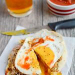 Pork and Egg Breakfast Pizza