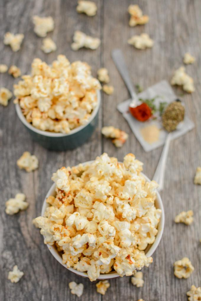 This recipe for Spicy Ranch Popcorn is a helpful snack to keep on hand if you're trying to quit smoking and an urge to smoke strikes! Stash some at work or in your purse to get you through a long afternoon!