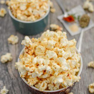 Spicy Ranch Popcorn Recipe